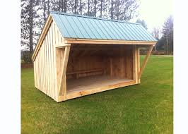 How To Build A Small Lean To Storage Shed by 10x14 Camping Shelter Now Offered By Jamaica Cottage Shop