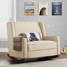 baby relax hadley u0027 microfiber double rocker free shipping today