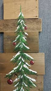 wooden pine tree wall white washed bulbs pine tree reclaimed wood pallet