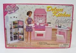 Deluxe Kitchen Play Set by New 1 6 Gloria Barbie Licca Doll Furniture Deluxe Kitchen Play