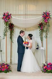 wedding arches chuppa colorful chuppah huppah wedding canopy erin johnson