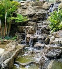 Rock Garden Waterfall Make And Keep Up Artificial Rock Waterfalls Wallace