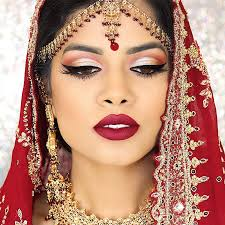 Make Up best indian bridal makeup tutorials with step by step