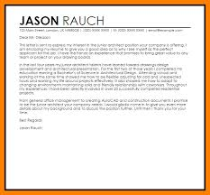 cover letter for architect 6 cover letter architecture list of reference