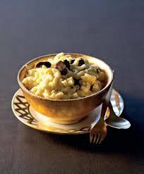 cuisiner la truffe recette risotto de coquillettes aux truffes