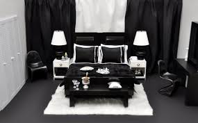 Red Bedroom Furniture Decorating Ideas Bold Black And White Bedrooms With Bright Pops Of Color 48