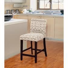 linon home decor bar stools linon morocco 24 in gray cushioned bar stool 0225drif 01 kd u
