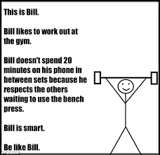 Stick Man Meme - backlash against bill the stick man who tells people how to behave