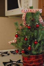 kitchen christmas decorating ideas christmas decorating ideas 3 ways to decorate mini trees