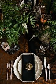 Vintage Halloween Plates by Halloween Tabletop Midnight In The Garden Coco Kelley Coco Kelley