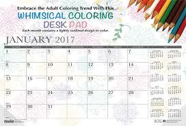 win a 2017 doodle calendar desk pad by house of doolittle