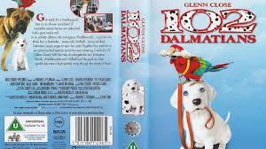 102 dalmatians 2001 uk vhs