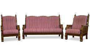 Honour Teakwood Sofa Set - Teak wood sofa sets