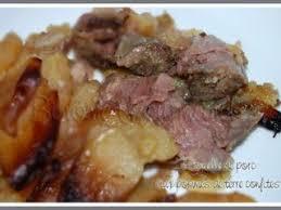 cuisiner rouelle de porc rouelle de porc aux pommes de terre confites recette ptitchef