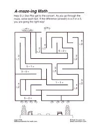 math worksheet sp04
