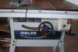 Delta Shopmaster Table Saw Delta Ts350 10