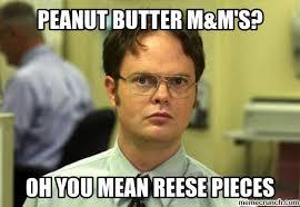 Peanut Butter Meme - butter m m s