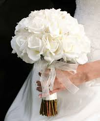 white wedding bouquets wedding bouquet with white roses ipunya
