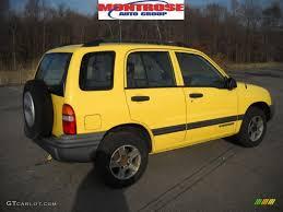 chevy tracker 2003 yellow chevrolet tracker 4wd hard top 27920244 gtcarlot