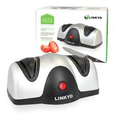 linkyo 2 stage electric kitchen knife sharpener review