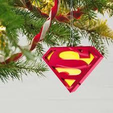 superman a symbol of musical ornament light hallmark keepsake