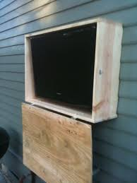 Build Outdoor Tv Cabinet Outdoor Tv Cabinet Ideas Home Design Ideas