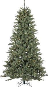 pre lit artificial christmas trees vickerman pre lit 7 5 green spruce tree artificial christmas tree