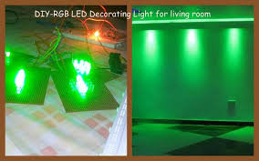 Room Decor Lights Make Your Own Rgb Led Decoration Light Diy 7 Steps With Pictures