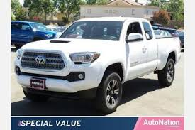 toyota tacoma prices paid 2017 toyota tacoma access cab pricing for sale edmunds