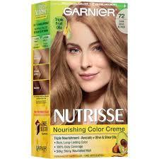 bronde hair home coloring garnier nutrisse nourishing color creme hair color 72 dark beige
