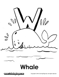 whale alphabet colouring pageswhale coloring pages prints and