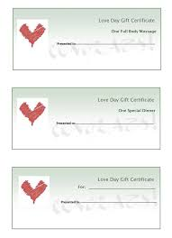 printable romantic gift certificates 30 images of love gift voucher template infovia net