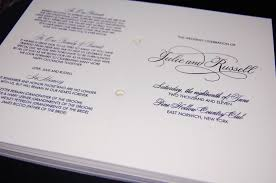 cool wedding programs kasey hamel wedding event design wedding programs