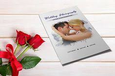 wedding photography brochure template trifold by templatestock