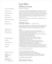 nursing assistant resume samples sample resume certified nursing