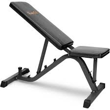 Adjustable Weight Bench Everfit Adjustable Weight Bench In Black 126cm Buy Exercise Benches