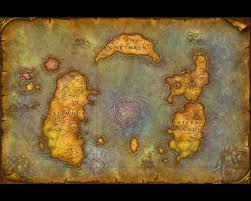 Wow Map Map With Northrend Free Wow Wrath Of The Lich King Wallpaper