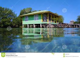 boat house clipart stilt house pencil and in color boat house