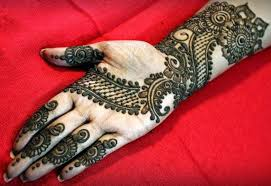 front hand arabic mehndi designs for stylish girls women simple