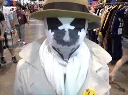 Rorschach Halloween Costume Rorschach Mask Denver Comic 2013