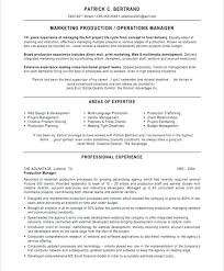 sample product manager resume marketing manager resume sample