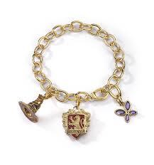 lumos harry potter gryffindor charm bracelet jewelry