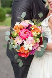 wedding flowers june colorful whimsical wedding laffoon photography