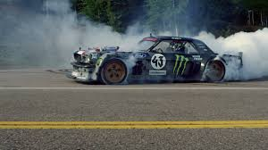 hoonigan mustang drifting climbkhana watch ken block drift up pikes peak in a twin turbo