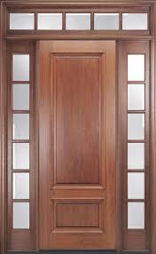 Exterior Door Units 8ft Mahogany Front Door Units