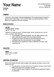 Ut Sample Resume by Printable Resume Cv Templates U0026 Format Sample