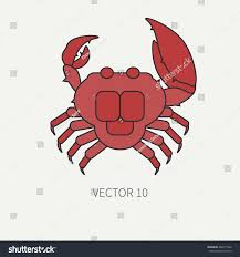 line flat color vector icon marine stock vector 462617566