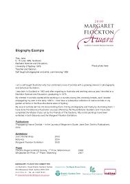 sample resume bio data resume biography sample resume cv cover letter personal biography sample example