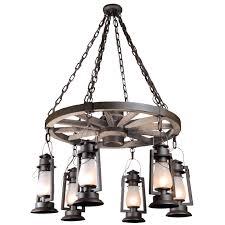 Rustic Style Chandeliers Sutter U0027s Mill Lanterns Ceiling Lighting Goinglighting