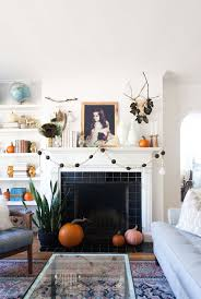autumn mantel decor with home depot lay baby lay